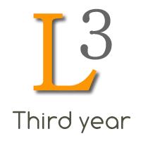 Third year